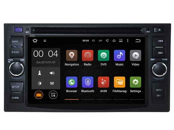 Android 7.1 CAR Audio DVD player FOR KIA SPORTAGE 2004-2010 gps car Multimedia head device receiver support DVR WIFI DAB OBD