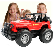 Acousto-optic Jeep Off-road Vehicle Toy Car Super Early Childhood Car Boy Gift,Free Shipping