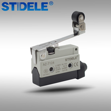 Micro Lever Limit Switch with Roller Wheel Short Roller Hinge 380V 10A AZ-7124