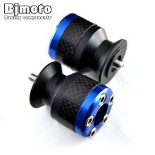 Blue Color 6mm motorcycle carbon fiber Swingarm Spools slider fits for Yamaha YZF R1 R6 R6S YZFR1 YZFR6 YZFR6S YZF-R6S
