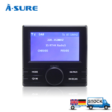 A-Sure External DAB BOX Receiver DAB+ Radio Tuner for Android WinCE car dvd gps player Digital Radio Receiver(Hong Kong)