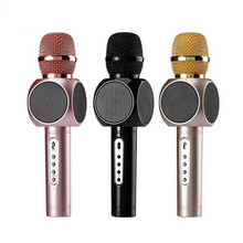 BINGSENTEC E103 Wireless Karaoke Microphone Bluetooth Handheld KTV Microphone Mobile Speaker Outdoor Party For Iphone Android