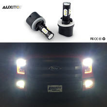 2x 880 881 H3 9006 LED Car Fog Lights For Ford Focus 2 3 1 Fiesta Mondeo Transit Fusion Kuga Ranger Mustang Ecosport Mondeo MK4