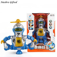 Electronic Walking Dancing Smart Space Blue Robot Astronaut Kids Music Light Toys Free Shipping M1