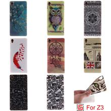 Cheap Ultra Thin TPU Silicone Soft Phone Cell Case shell fundas kryty Cover Cove Bag For Sony Xperia Xperi Xpera Z3 Dual