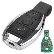 2 Buttons Keyless Entry Remote Car Key 433 MHz for Mercedes BENZ 2000+ with NEC&BGA Key Shell Case D25(China)