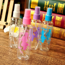 3Pc 100ML Perfume Bottle Refillable Shampoo Lotion Liquid Toner Emulsion Cosmetic Plastic Pressure Mouth Point Spray Pump Bottle