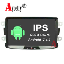 Aycetry! IPS HD Screen! Octa 8 core android 7.1.2 Car dvd GPS for Renault/Duster/Dacia/Sandero/Captur/Lada/Xray 2 Logan 2 radio