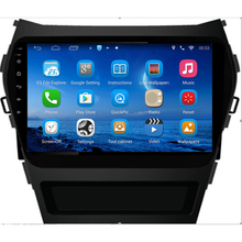 ChoGath 9 inch Android 6.1 1024*600 Capacitive screen for HYUNDAI Santa Fe 2011-2017 TUCSON with WIFI ,steeling wheel control