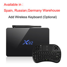 Max 3GB/32GB X92 Amlogic S912 Android 6.0 TV Box Octa Core 5G Wifi 4K Smart Set Top Box BT 3D HD Media player PK X96 A95X