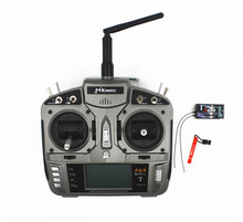 MKron I6S Gray 2.4G 6 CH RC Transmitter Radio W 10-model memory W S603 RX Surpass DX6i JR FUTABA for Helicopter Quadcopters(China)