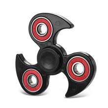 Buy Wheel Tri-Spinner Fidget Spinner Plastic Hand Spinner Finger Spinner Anti Stress Tri Spiner Toys Autism ADHD for $6.59 in AliExpress store