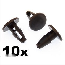 10x For Toyota Plastic Trim Clips- Wiper Motor Cover, For Windscreen Cowl, & Wheel Arch