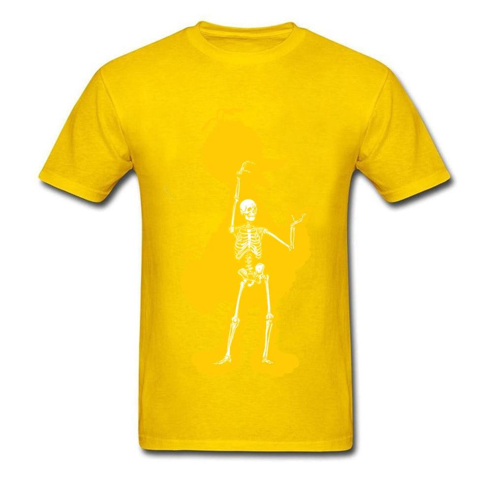 bird x ray 11689 Men Funky Tops & Tees Round Neck Summer Fall 100% Cotton Fabric T-Shirt Normal Short Sleeve Tee Shirts bird x ray 11689 yellow