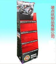 cardboard paper material exhibition hook display stand(China)