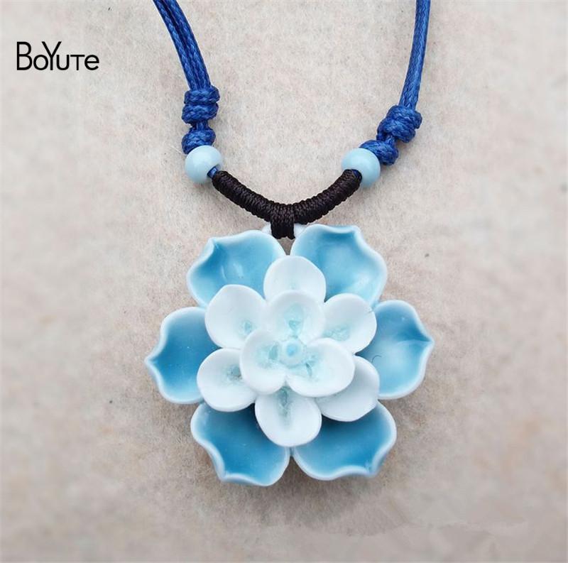 Flower necklace (3)