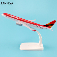 16cm Alloy Metal Airplane Model Air Avianca Airlines Airbus 330 A330 200 Airways Plane Model W Stand Aircraft  Gift