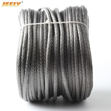 Free Shipping 50m 1200kg High Quality UHMWPE Fiber BRAID KITE LINE 3.5mm 12weave Spectra WINCH ROPE(China)