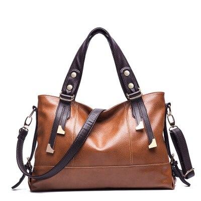 2018 New Women Messenger Bags Fashion Leather Handbag Portable Shoulder Bag Crossbody Bolsas Women Leather Handbag Big Tote<br>