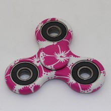 2017 New  Camouflage Pattern Gyro Toys Gift Finger Spinner Fidget Plastic EDC Hand For Autism/ADHD Anxiety Stress Relief Focus
