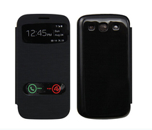 fundas capa coque case for Galaxy s3 s 3 s4 s 4 mini filp Cover Ultra Thin PU Leather Cell Phone Cases for Samsung s3 I9300
