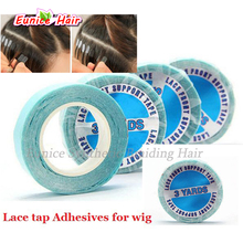 2pcs Lace tap Adhesives for wig Adhesive Tape double sides tap hair glue/adhesive remover for tape hair extensions/ PU skin weft