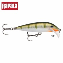 Rapala Scatter Rap Series SCRCD07 Hard Minnow Fishing Lure 70mm 7g 1.8-2.7m Depth Scatter Lip Artificial Bait With Two VMC Hooks(China)