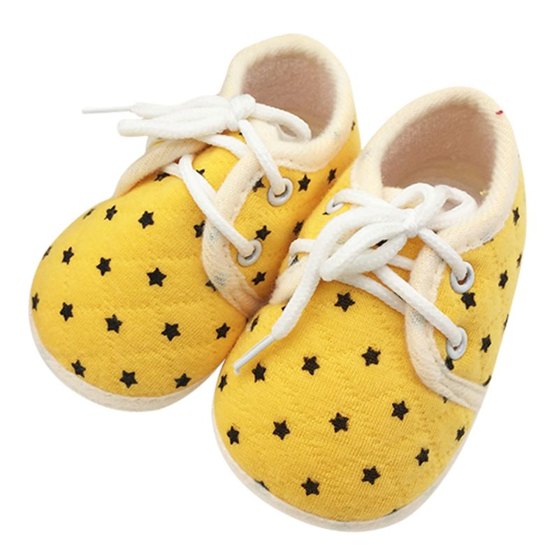 Newest Infant Toddler Baby Boy Girl Kid Soft Sole Shoes Laces Up Sneakerborn First Walkers 0-18M<br><br>Aliexpress