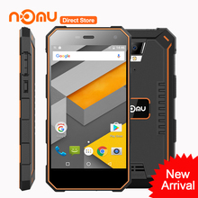 "5000mAh NOMU S10 Mobile Phone Android 6.0 Quad Core MTK6737 5.0"" Cell Phone 2GB RAM 16GB ROM 8MP IP68 Waterproof 4G Smartphone"