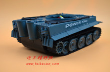 DIY 56 Plastic Tank Chassis with Rubber Crawler belt Tracked Vehicle Robot Chassis