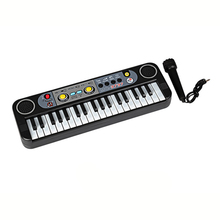 Electronic mini Keyboard Musical Toys 37 Keys Multifunctional Keyboard Piano Musical Toy+Microphone Educational Toy For Kids