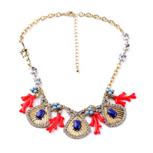 Alloy Bib Necklace Exclusive Movie Jewelry Free Shipping No Minimum Order(China)