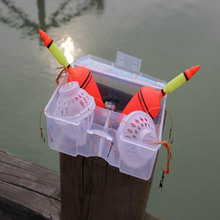 1 Set Carp Fishing Float Bobber Sea Monster with Strong Explosion Hooks Two Fishing Tackle Sets ALS88