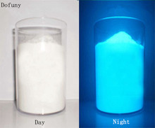 50g/lot Sky-blue Color photoluminescent powder Luminous phosphor Pigment for DIY Paint Print ,Glow in dark Powder Dust