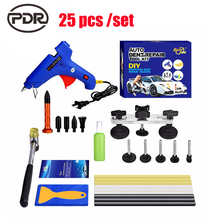 PDR Tools Kit With Original Box Dent Removal Paintless Dent Repair Tools Dent Puller Bridge PDR Glue Sticks Glue Gun Tool Sets