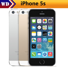 "Original iPhone 5s Unlocked Apple 5s Smartphone 4.0"" 640x1136px A7 Dual Core 16GB/32GB /64GBROM IOS 9 3G WIFI 8MP"