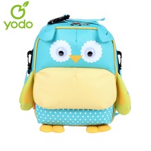Yodo CUte Kids Baby Bags 3D Owl 3-Way Toddler Backpack Anti-lost School Bags For Girls Boys Insulated Thermal Mochila Escolas(China)