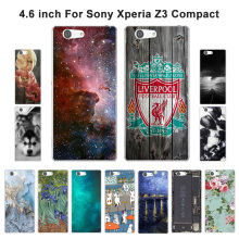Buy Soft TPU Sony Z3 Mini Case Phone Scenery Painted Sony Xperia Z3 Compact Z3 Mini M55W D5803 Silicone Back Cover for $1.43 in AliExpress store