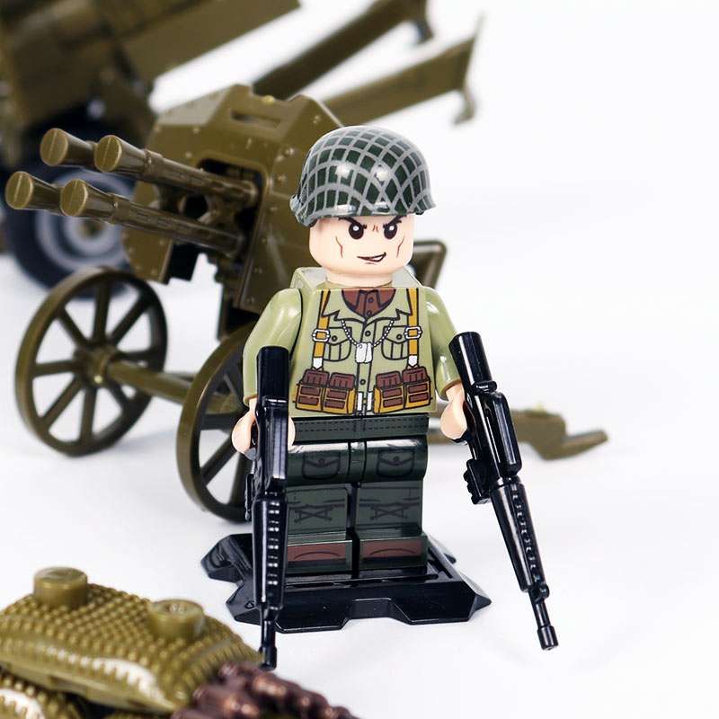 Oenux New Arrival Ww2 The Battle Of Normandy Military Building Block