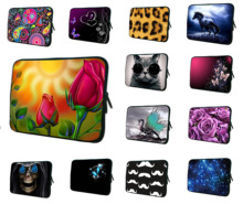 "Notebook Inner Cover Bags Tablet Mini PC 12"" Unisex Flowers Laptop Bag 11.6 12.1 inch Protector For Samsung Google Chromebook"