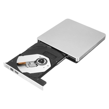 USB 3.0 SATA 12.7mm External Enclosure Case Writer Burner Drive For Laptop DVD External Slim CD DVD Burner Drive For MacBook(China)