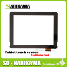9.7inch MID white Touch Screen Panel for 9.7'' Pipo M6 pro 3G Quad Core Digitizer Glass IPS Tablet PC Sensor Screen Free Shippin