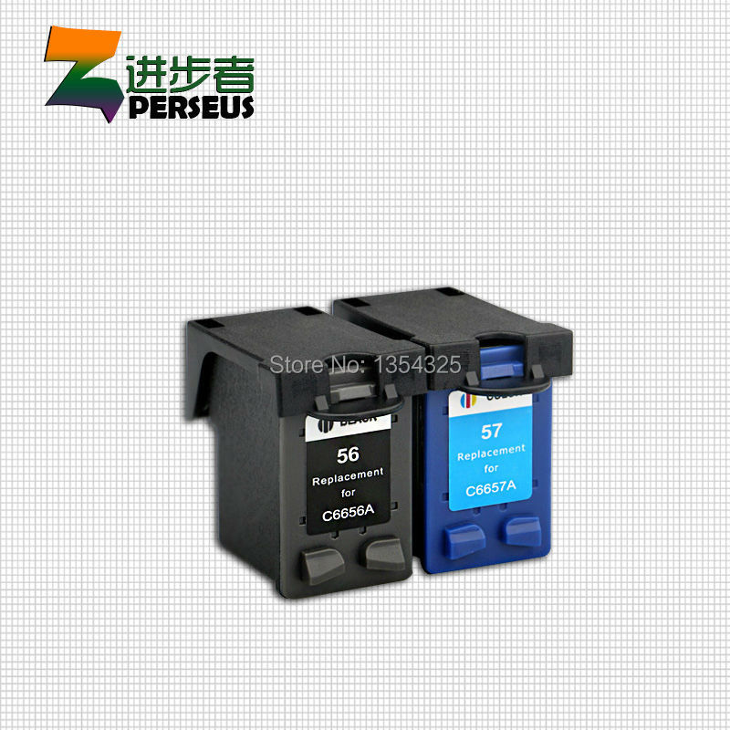 3 Pack (2 Black &amp;1 Tri-Color ) INK CARTRIDGE FOR HP 56 57 56XL 57XL FULL HIGH CAPACITY RE-MANUFACTURED FOR HP PRINTER INKJET<br><br>Aliexpress