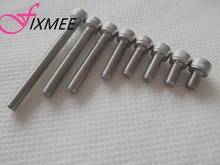 Fixmee 100PC Metric Thread M4*6/8/10/12/16/20/25/30/35/40mm Stainless Steel Hex Bolt Kit 304 Cap Nut Washer Set Screw(China)