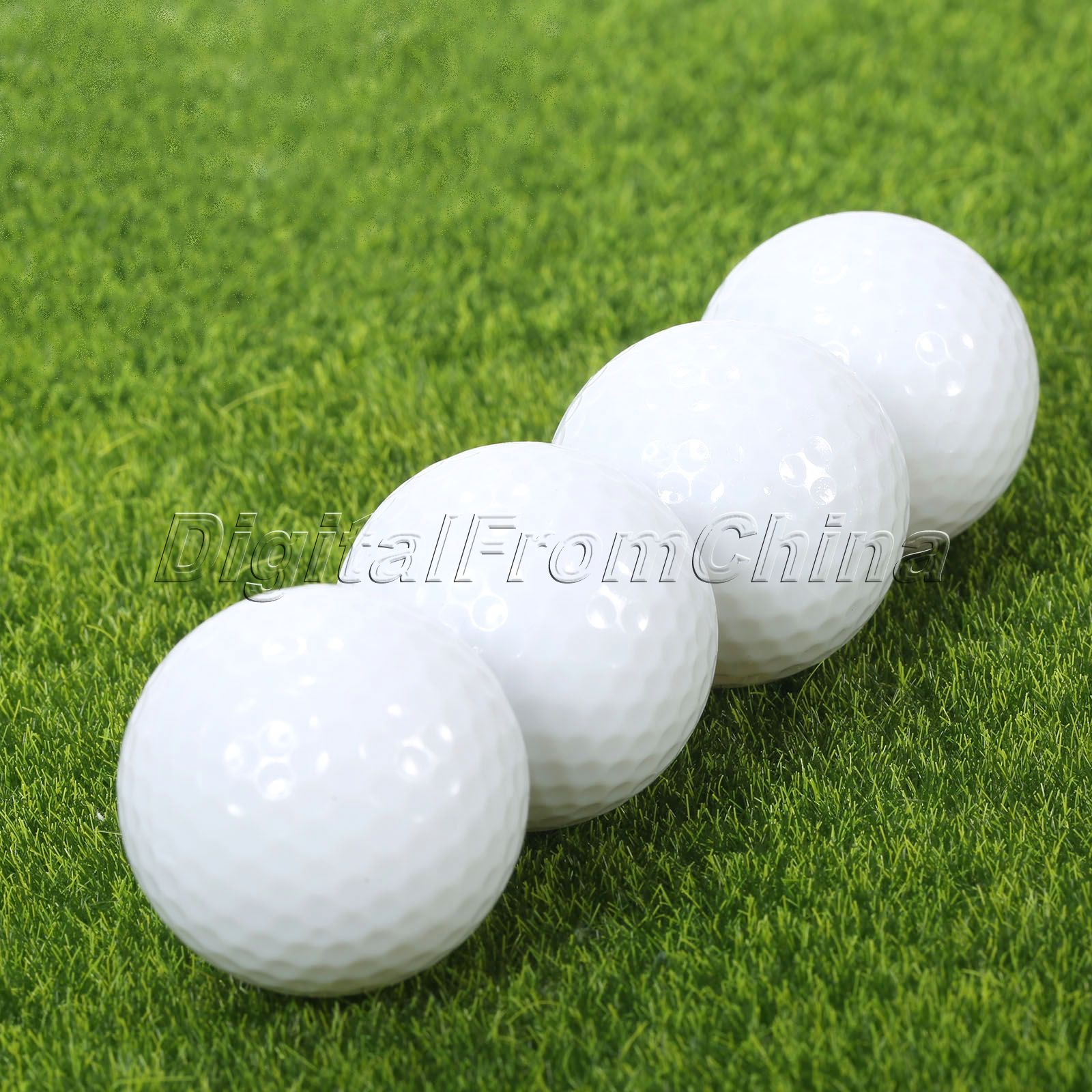 4Pcs Surlyn Golf Balls LED Electronic Golfing Light-up Flashing Night Light Glowing Night Tracker Flashing Golf Ball Accessories(China)