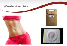 40 Pcs/a lot Slimming Navel Stick Slim Patch& Weight Loss Slimming Creams Burning Fat Chinese medicne Health Care(China)