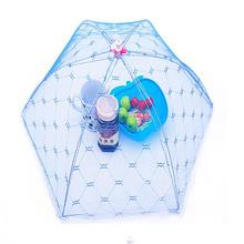 Food Covers Umbrella Style Anti Fly Mosquito Kitchen cooking Tools meal cover Hexagon gauze table food cover