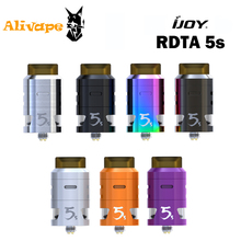 IJOY RDTA 5S 2.6ml Capacity Top Filling Design Atomizer Dual adjustable airflow Innovative top fill system