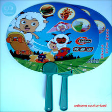 Chinese styles fan / advertising gift fan / creative promotions long-handled fan / printed logo plastic fan custom design only