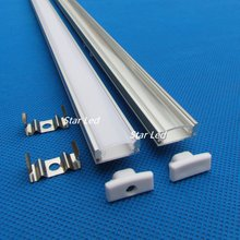 DHL/UPS/FEDEX free shipping 10m(20pcs/lot),20inch 0.5m QC1807B-0.5M Led aluminum profile channel led aluminum extrusion(China)